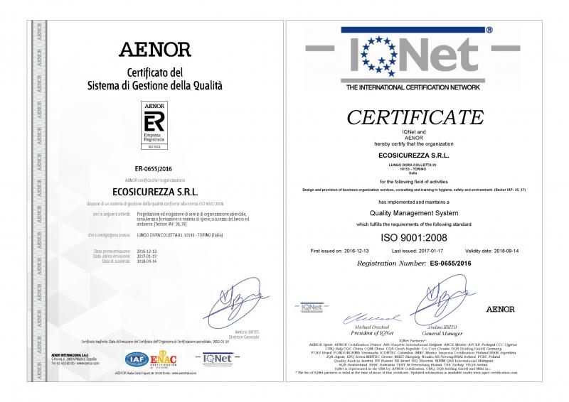 AENOR e IQNet